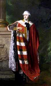 Louis William Desanges - George, 4th Duke of Manchester