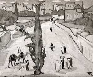 Marguerite Zorach - Near Hebron