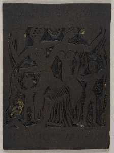 Marguerite Zorach - Untitled (Two Women and Two Children)
