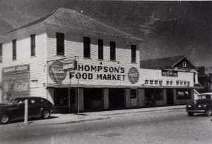 Betty Tichich - Thompson's Food Market, 38th and J, from The Corner Stores of Galveston, Galveston County Cultural Arts Council