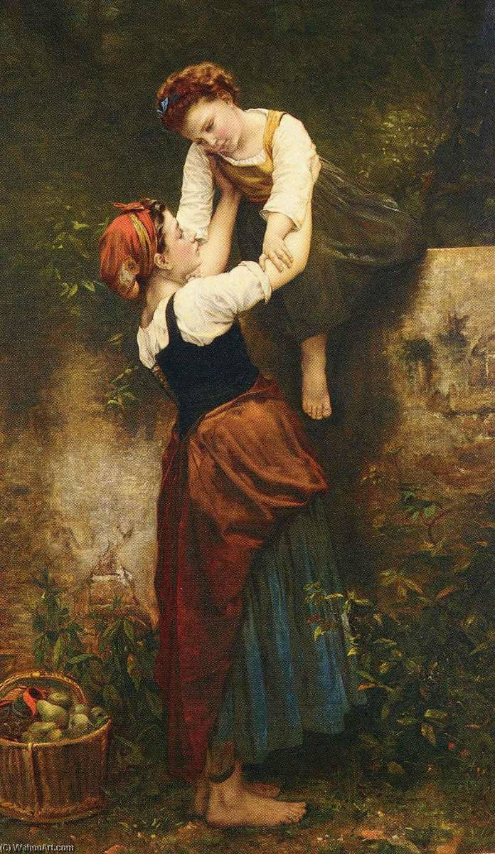 A Helping Hand by Emile Auguste Hublin