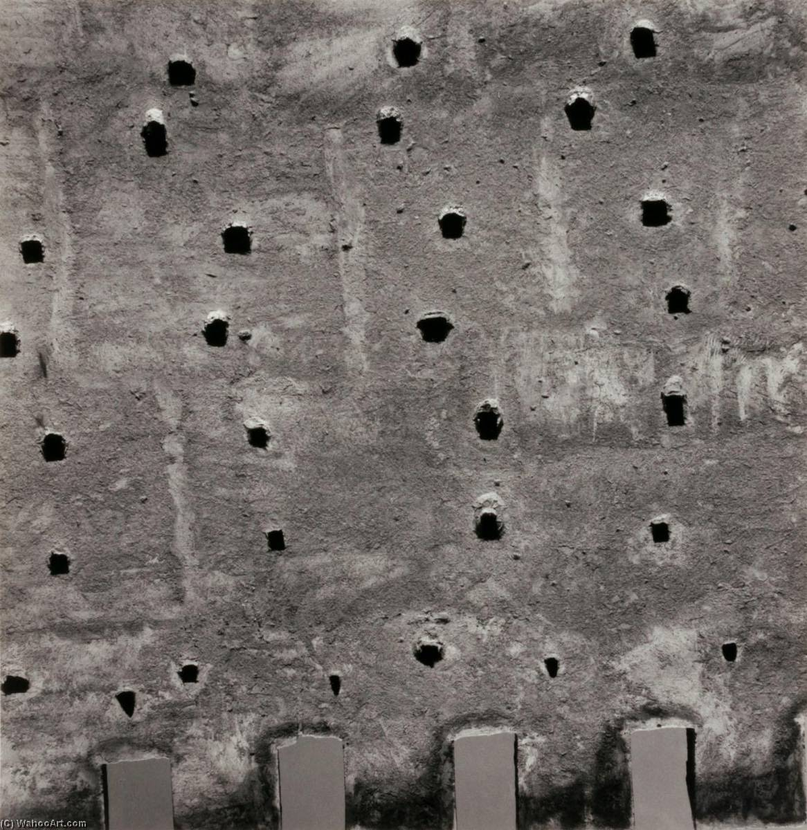 Morocco 77, 1982 by Aaron Siskind (1903-1991, United States) | Art Reproduction | WahooArt.com