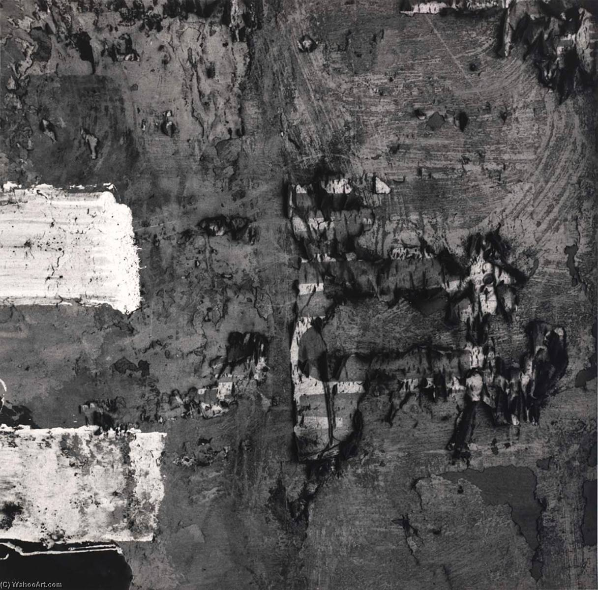 Lima 137, 1980 by Aaron Siskind (1903-1991, United States) | Art Reproduction | WahooArt.com