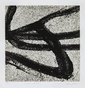 Aaron Siskind - Providence 68, 1986, from the portfolio Tar Abstracts