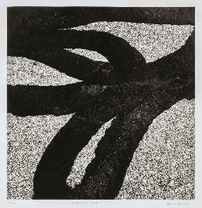 Aaron Siskind - Westport 87, 1988, from the portfolio Tar Abstracts