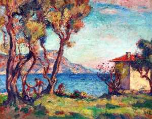 Georges Despagnat - Maisonette by the Sea