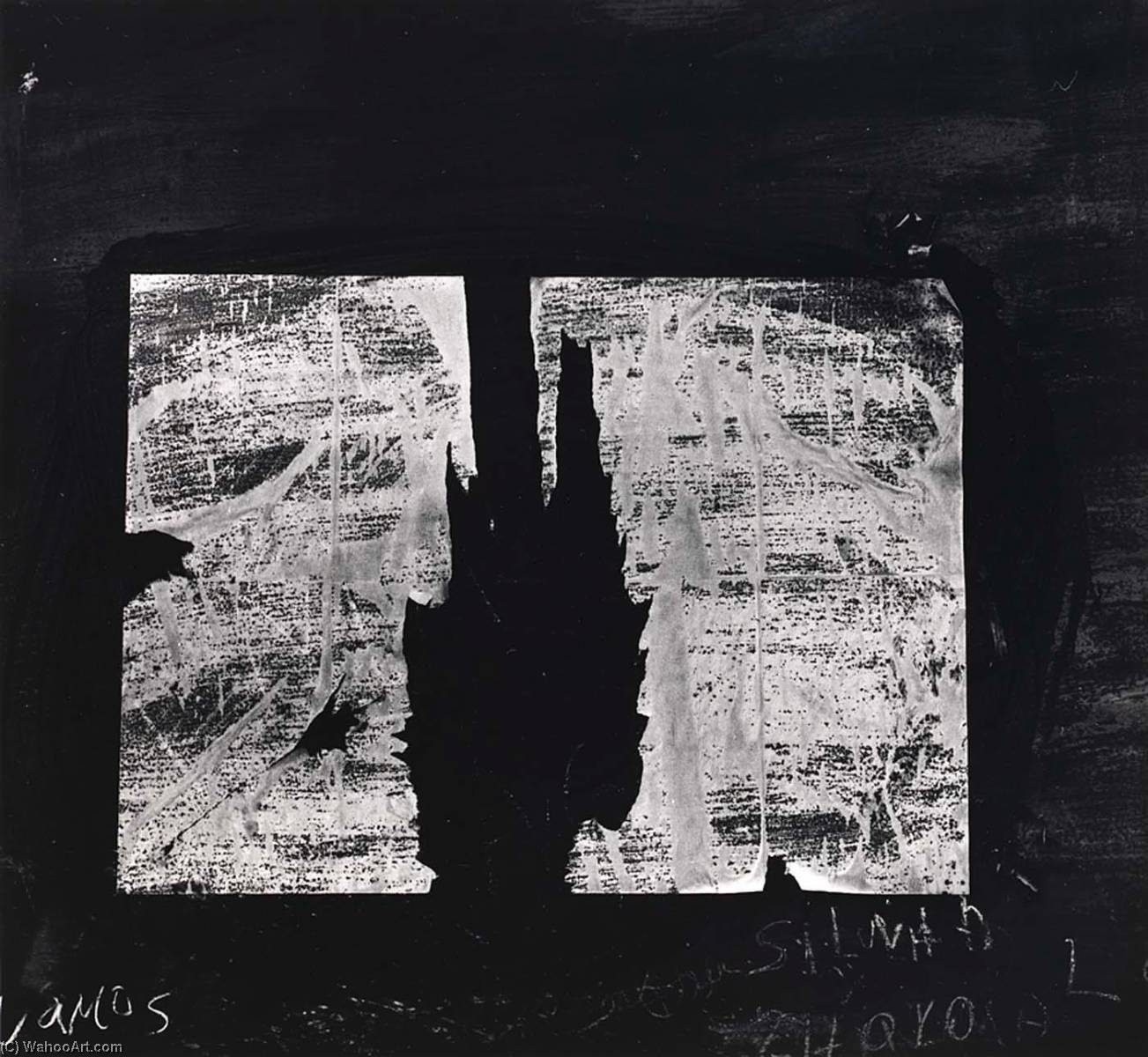 Peru 422, 1977 by Aaron Siskind (1903-1991, United States) | Museum Quality Reproductions | WahooArt.com