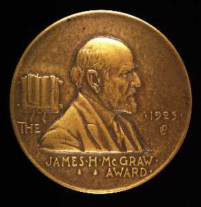 Anthony De Francisci - James H. McGraw Award for Advancement of the Electrical Industry (obverse)