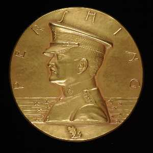 Anthony De Francisci - General John J. Pershing Medal (obverse)