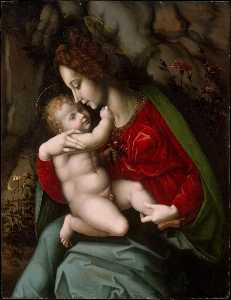 Il Bacchiacca - Madonna and Child