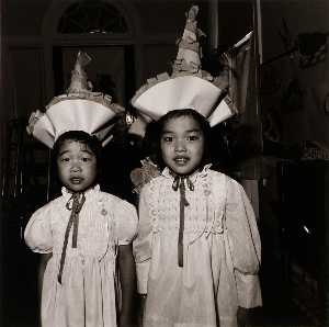 Elinor Cahn - Korean Children at Graduation Exercises, Sister Servants of Mary Immaculate Pre School, from the East Baltimore Documentary Survey Project