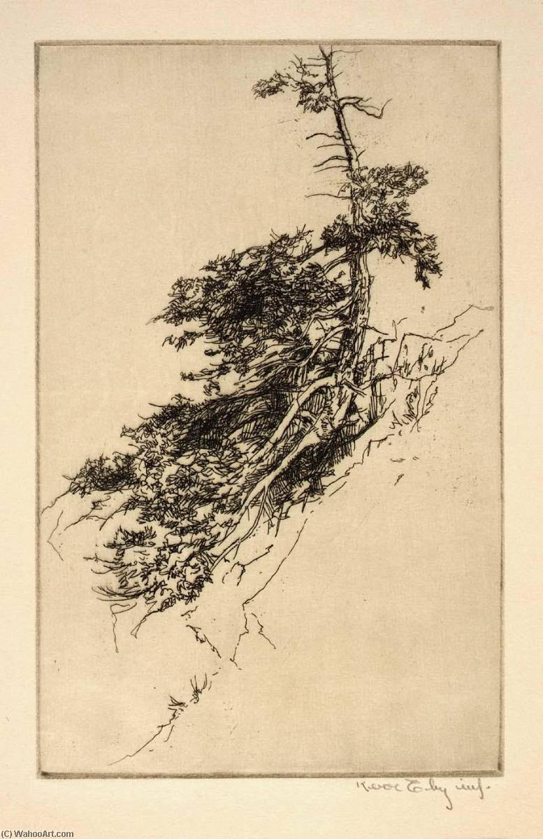 Little Rock Pine, 1921 by Kerr Eby | WahooArt.com