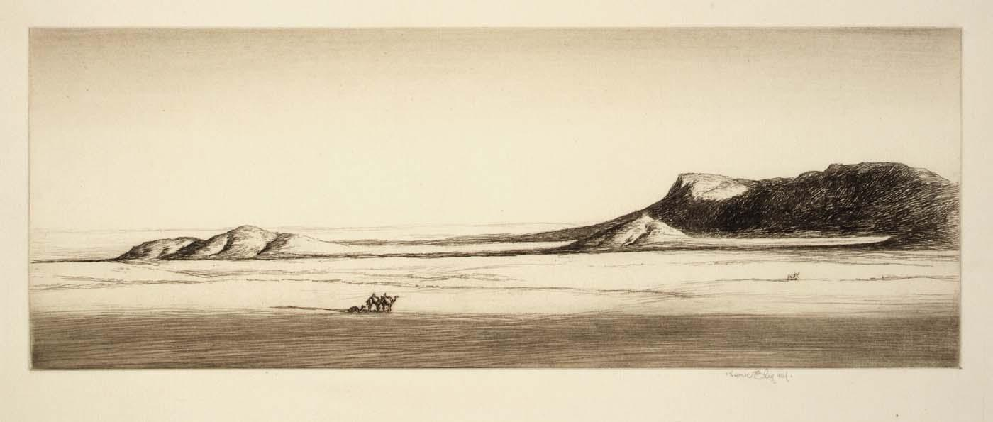 Edge of the Sahara, 1920 by Kerr Eby | WahooArt.com