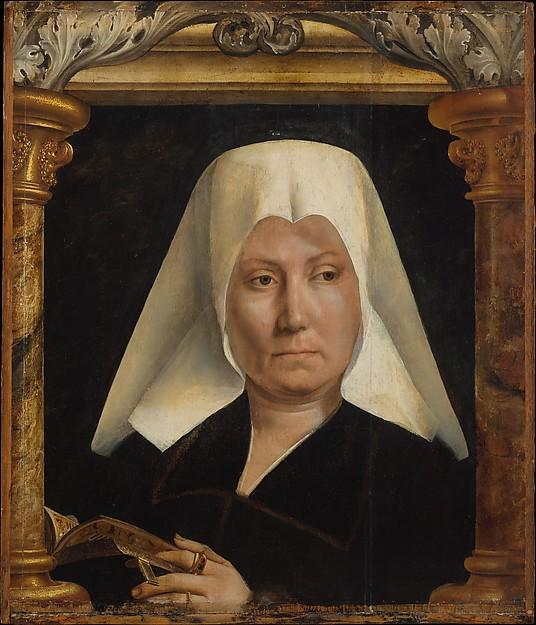 Portrait of a Woman, Oil by Quentin Massys (1466-1530, Belgium)