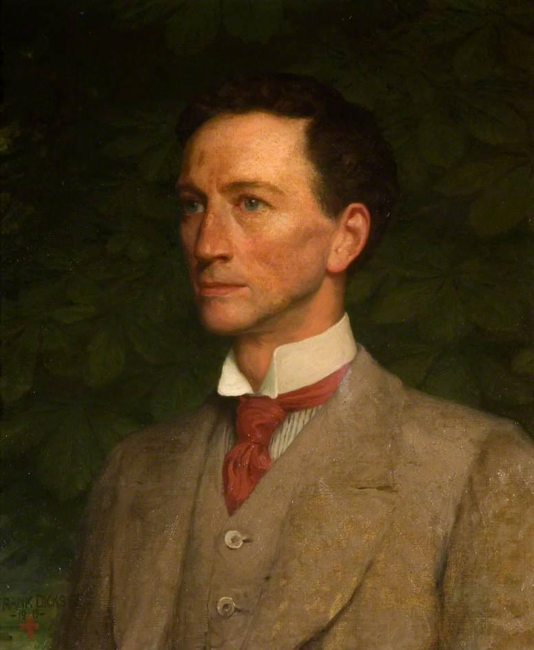 Godfrey Rathbone Benson, Baron Charnwood, Oil On Canvas by Francis Bernard (Frank) Dicksee