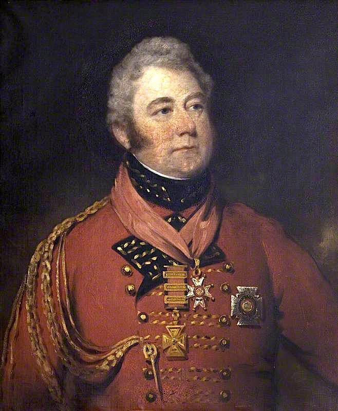 General Sir William Anson, 1st Bt, 1815 by Thomas Barber | Museum Quality Reproductions | WahooArt.com