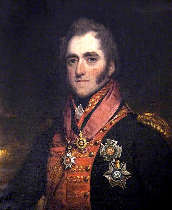 General Sir George Anson, 1815 by Thomas Barber | Art Reproduction | WahooArt.com