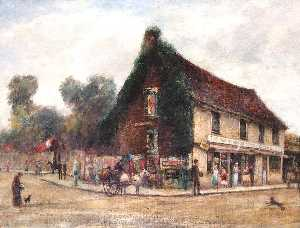 William Freeman - Junction between London Road and Richmond Road, Kingston, Surrey
