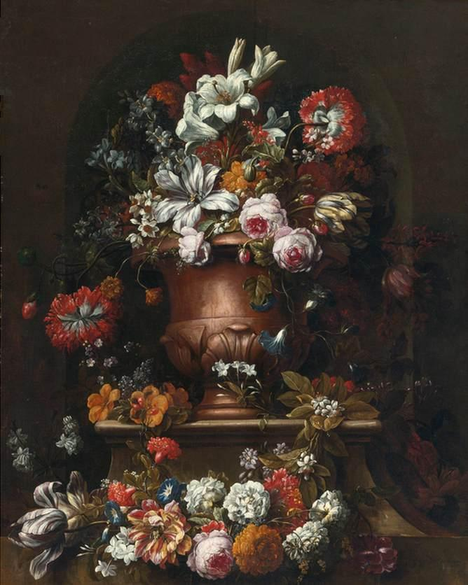 Flowers by Gaspar Peeter The Younger Verbruggen | Museum Quality Reproductions | WahooArt.com