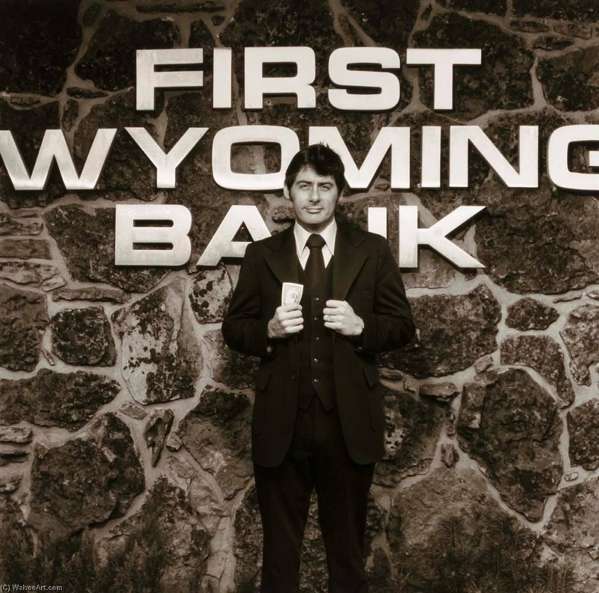 Sheridan Banker, from the Wyoming Documentary Survey Project, 1979 by Penny Diane Wolin | WahooArt.com