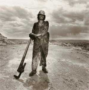 Penny Diane Wolin - Oil Field Roughneck, from the Wyoming Documentary Survey Project
