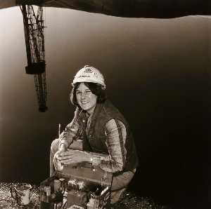 Penny Diane Wolin - Oil Field Mud Engineer, from the Wyoming Documentary Survey Project