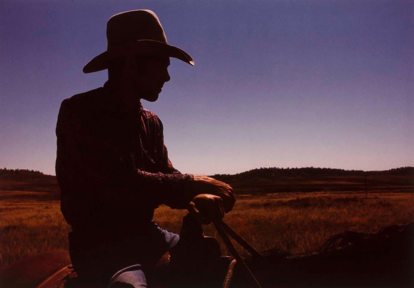 Kaycee Cowboy, from the Wyoming Documentary Survey Project, 1979 by Penny Diane Wolin | WahooArt.com