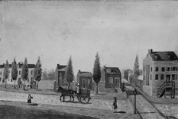 The Garbage Cart, Paper by William P Chappel (1800-1880)