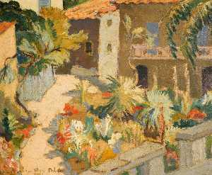 John Maclauchlan Milne - From the Balcony