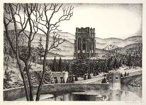 Alan Crane - Cadet Chapel, West Point