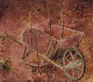 Morris Graves - Wheelbarrow