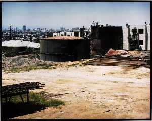 John Humble - View of Long Beach from 21st and Ohio Sts., Signal Hill, from the Los Angeles Documentary Project