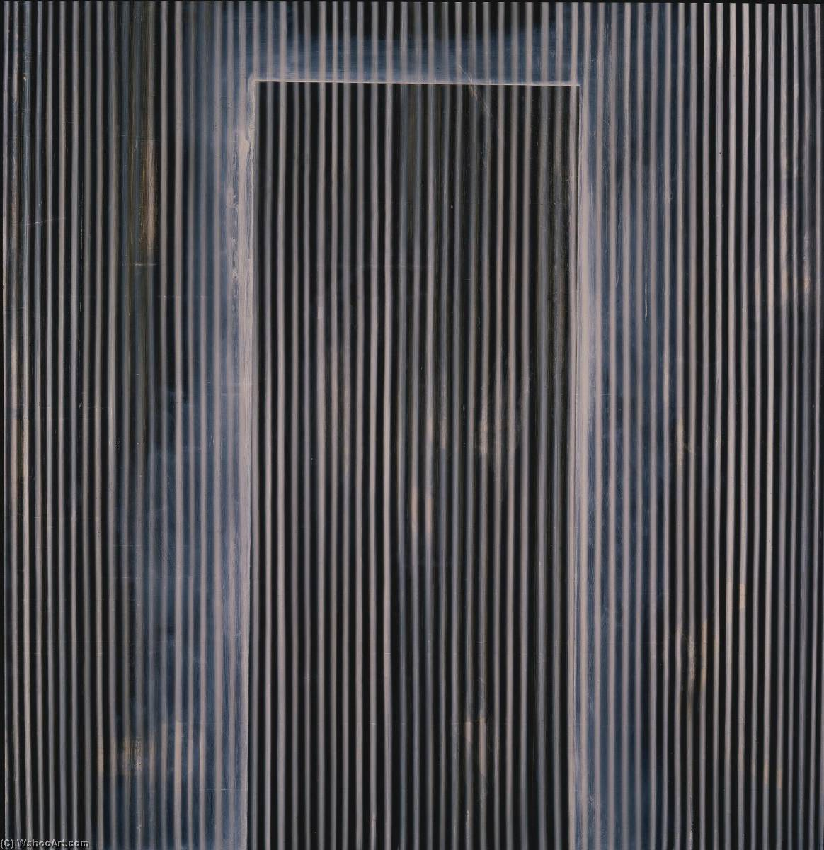 The Door to Last Year, Oil On Canvas by Ross Bleckner