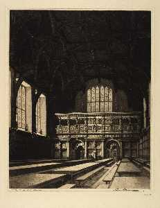 Leon R Pescheret - Middle Temple Hall, London