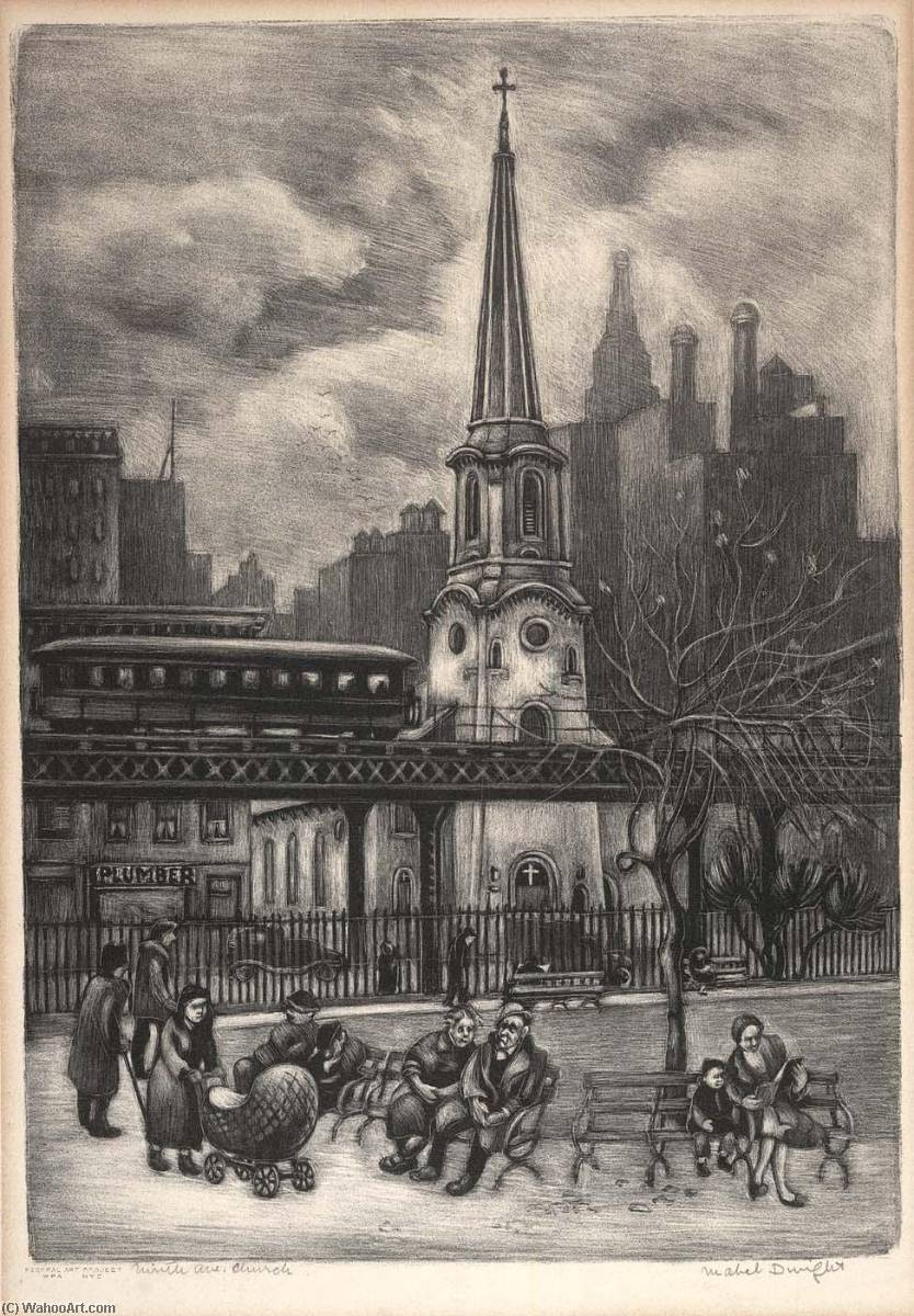 Ninth Ave. Church, Paper by Mabel Dwight