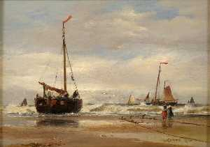 Thomas Bush Hardy - Fishing Boats
