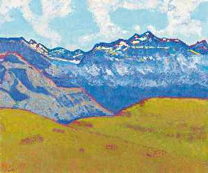 Walter Ropélé - FERNAB, BLICK IN DIE URNER HOCHALPEN (SITTLISALP), 2011 FROM A DISTANCE, VIEW OF THE HIGH ALPS OF URI (SITTLISALP), 2011