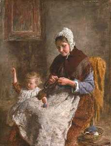 William Mctaggart - Helping Granny