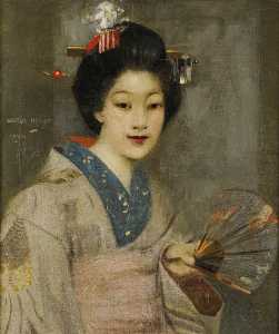 George Henry - The Geisha Girl
