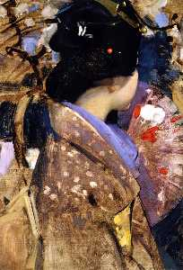 George Henry - Japanese Lady with a Fan