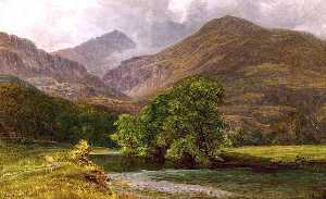 William Harold Cubley - In the Vale of Gwynant