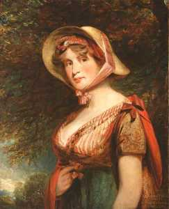 John Constable - Lady Louisa Tollemache, Countess of Dysart (after John Hoppner)