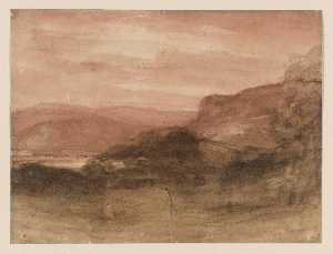 John Constable - Landscape in the Lake District