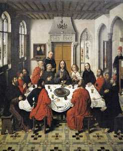Dierec Bouts - The Last Supper