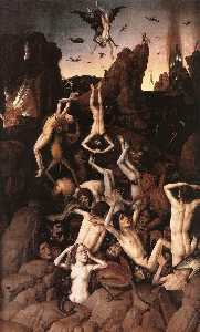 Dierec Bouts - The Fall into Hell