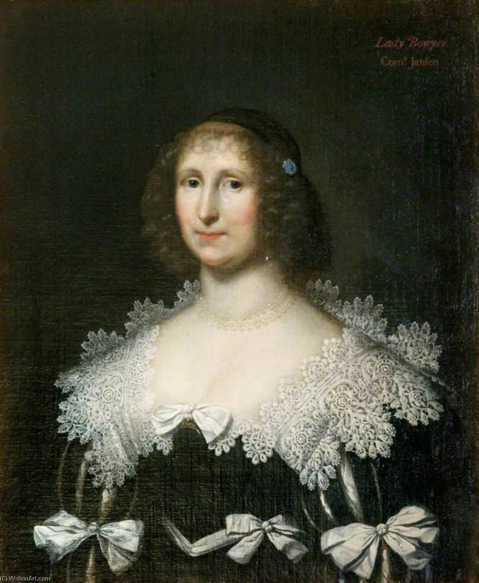Lady Hester Bowyer, Oil On Canvas by Cornelis Jonson Van Ceulen (1593-1661, United Kingdom)