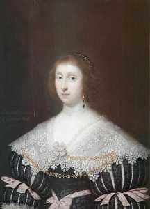 Cornelis Jonson Van Ceulen - Mary Heath, Lady Morley