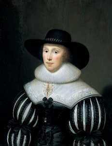 Cornelis Jonson Van Ceulen - Grace Bradbourne, Wife of Sir Thomas Holte