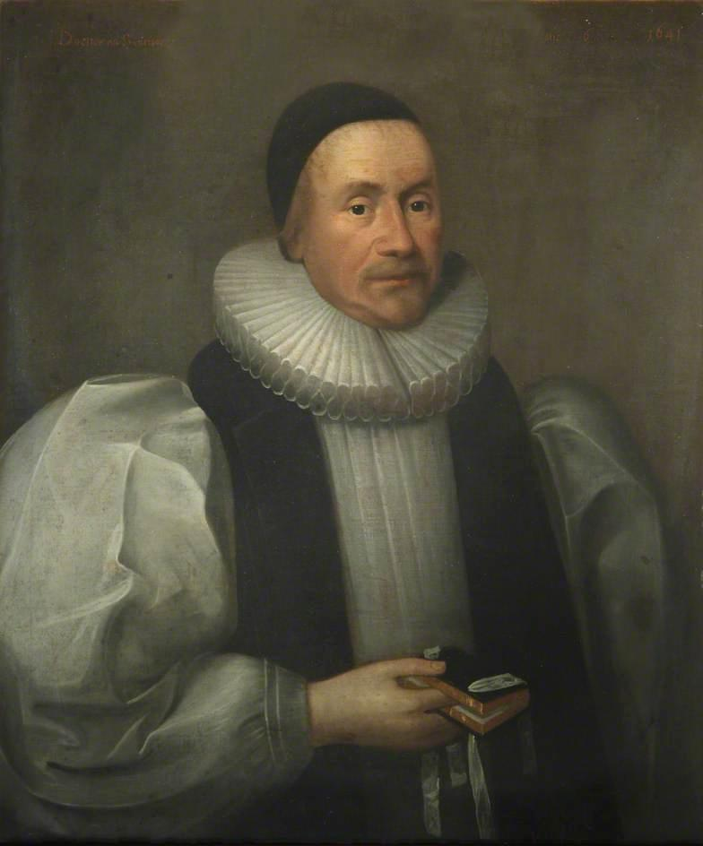 James Ussher, Bishop of Armagh, Oil On Canvas by Cornelis Jonson Van Ceulen (1593-1661, United Kingdom)