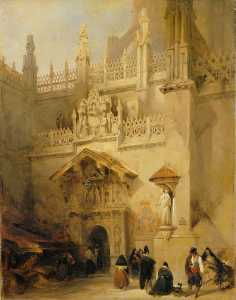 David Roberts - Granada the Chapel of Ferdinand and Isabella